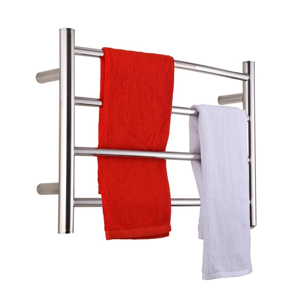 Sharndy etw29 us eu uk plug bathroom towel rack electric - Heated towel racks for bathrooms ...