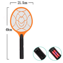 Electronic Bug Zapper Tennis Racket Battery Powered 2300V Mosquito Fly Killer for Indoor Outdoor LE66(China)