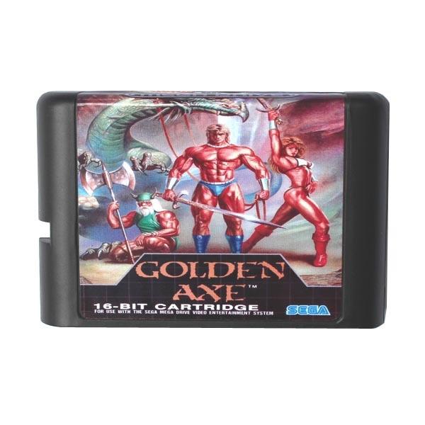 Golden Axe 16 bits MD Carte de Jeu Pour Sega Mega Drive Pour Genesis