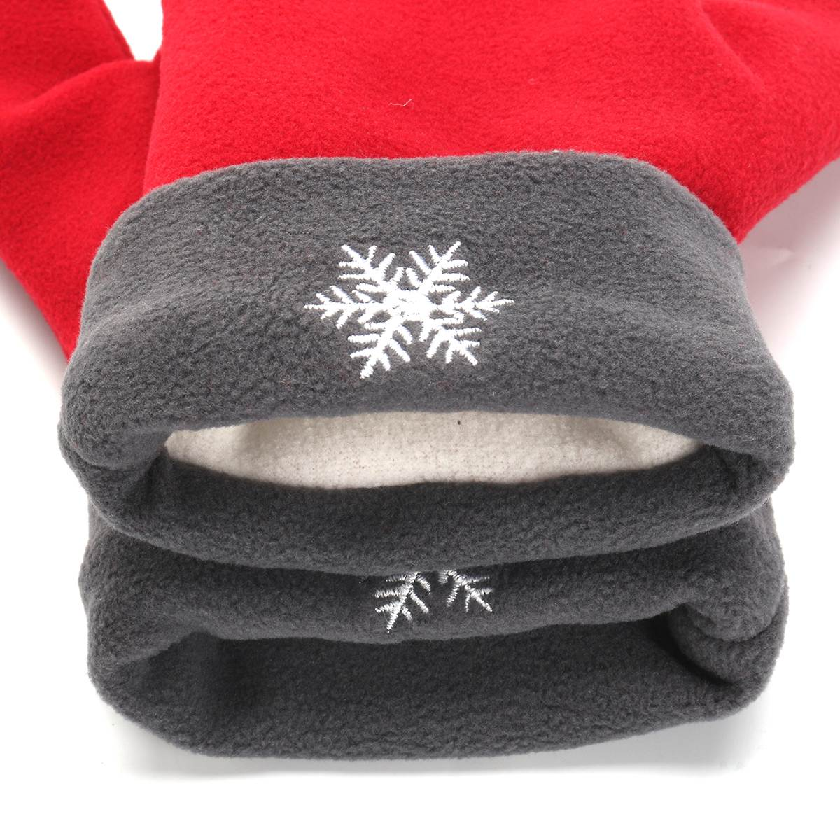 3PCS Unisex Winter Warm Couple Lover Gloves Christmas Xmas Sweethearts Mittens