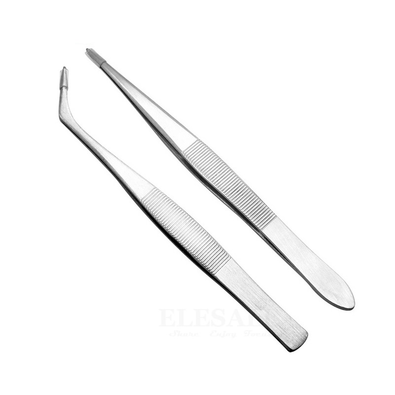 1-5 Pcs Mini Portable Stainless Steel Tweezers Wound Treatment Tool For Grip Small Things Repair First Aid Kits Supplies