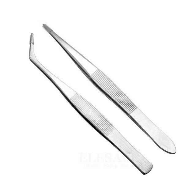 1 5 sztuk Mini przenośne narzędzie do leczenia ran pęseta ze stali nierdzewnej do chwytania małych rzeczy naprawa apteczki