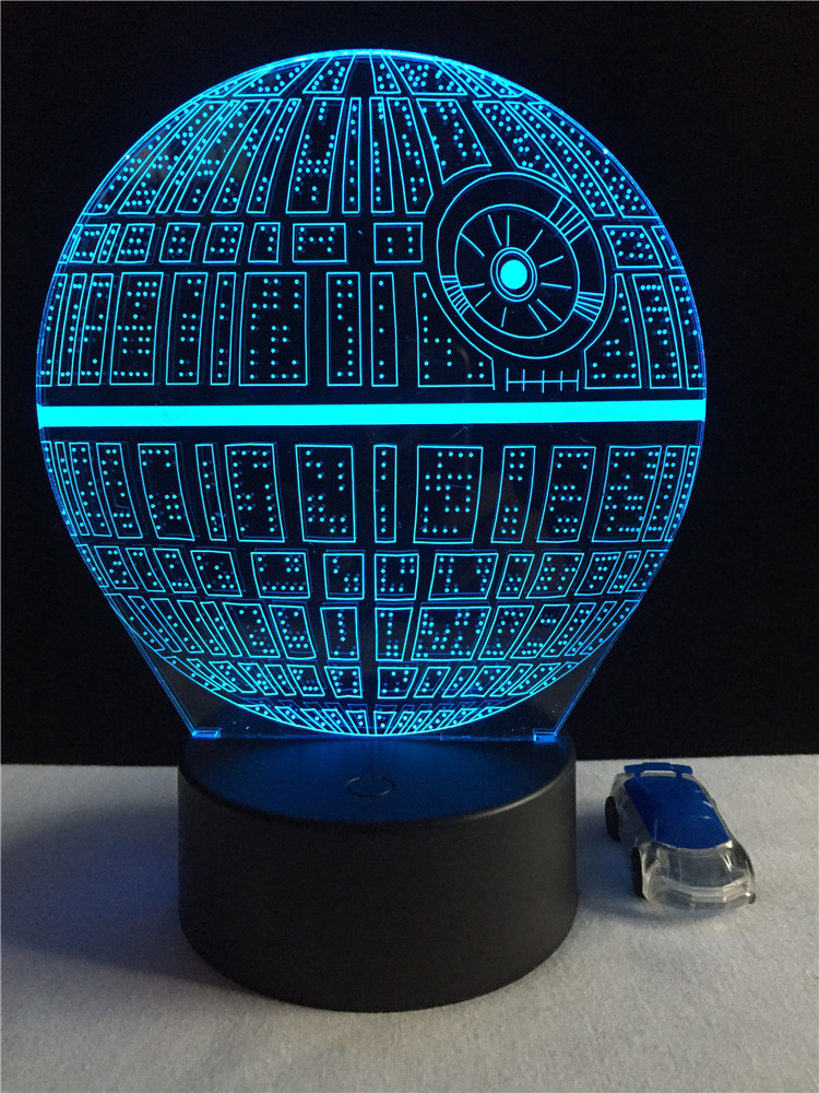 Luzes da Noite de star wars Function 4 : Lampada Led/lamparas/led Lamp Indoor