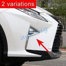 Хромированные аксессуары, передний противотуманный светильник, крышка для Lexus RX350 RX450h AL20, литье RX 350 450 h
