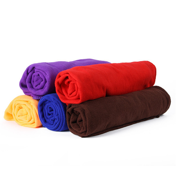 80 140cm Functional Soft Absorbent Microfiber Beach Bath Towel Travel Gem Quick Dry Towels H1 in Bath Towels from Home Garden