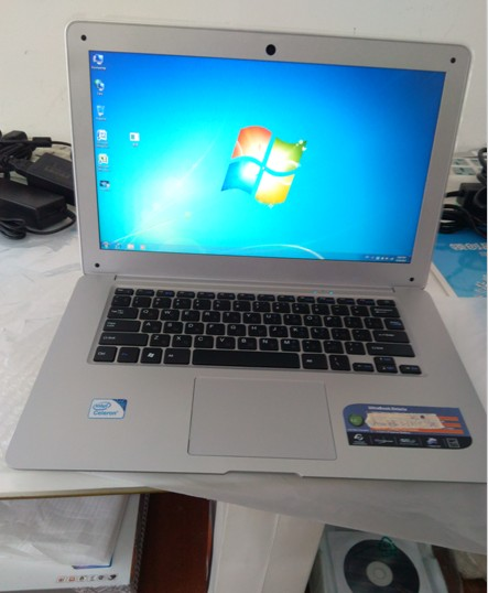 14 inch mini laptop with 750gb large storage and 8gb ram(China)