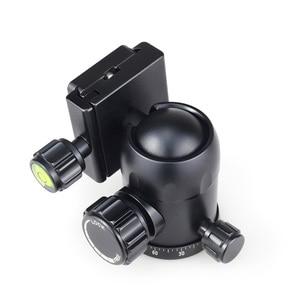 Image 3 - Innorel b36 liga de alumínio câmera tripé bola cabeça com placa liberação rápida carga máxima 12kg para fotografia panorâmica foto