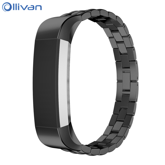 73af499533208 US $11.45 |Stainless Steel Watch Strap For Fitbit Alta HR band replacement  Metal Bracelet Belt Wristband Strap for fitbit Alta accessories-in Smart ...