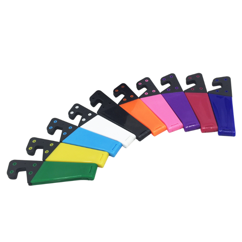 Universal Foldable Mobile Cell Phone Stand Holder For Smartphone & Tablet PC Multicolor Colorful V Shaped Wholesale