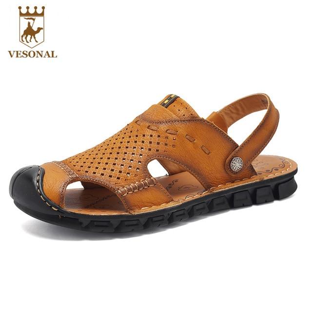 Les sandales et pantoufles sandales en cuir pour homme j4vQkMwzJ