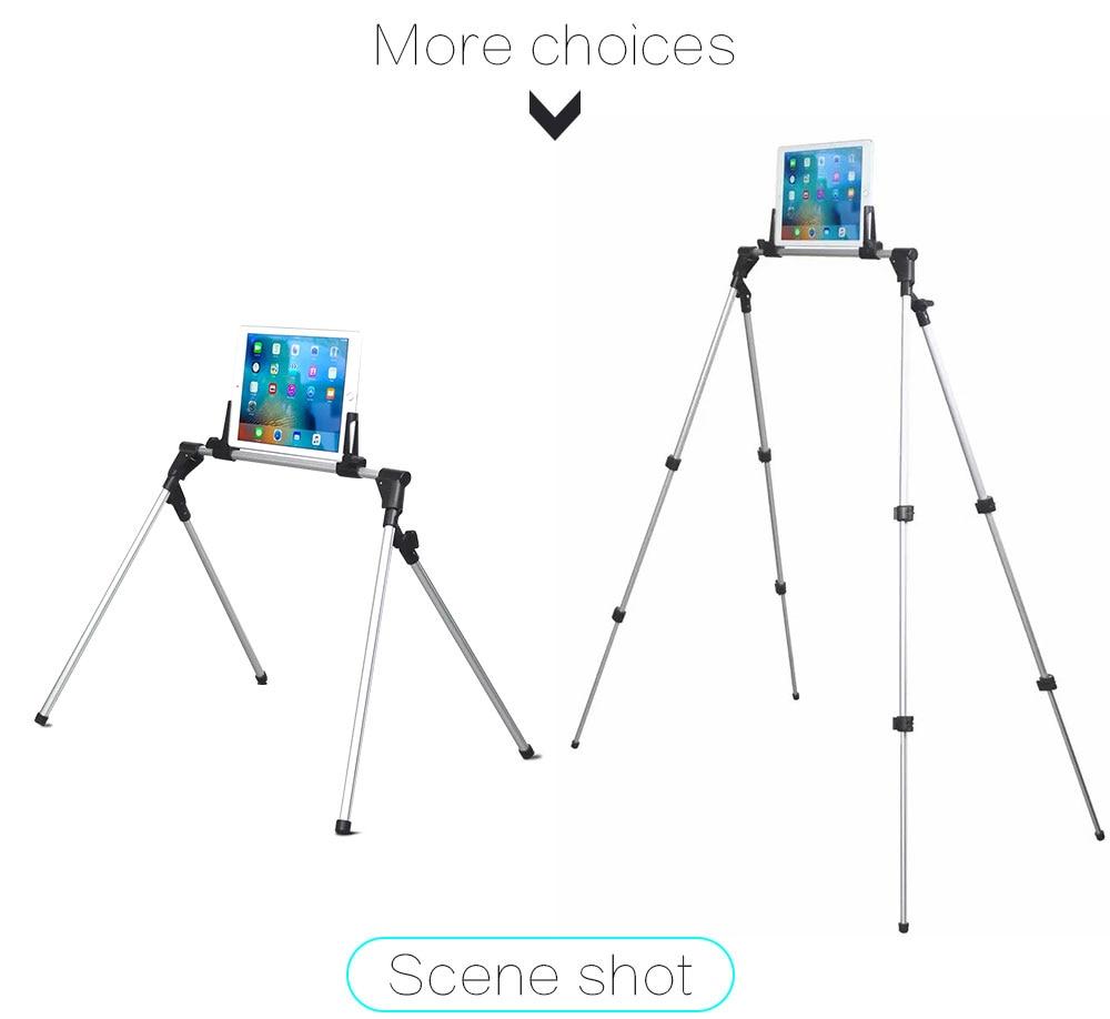 Portefeuille Tablet Mount Holder Floor Desk Sofa Bed Stand For iPad Pro 12.9 10.5 mini 4 2 Xiaomi mi Pad 4 3 Soporte Accessories (3)