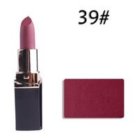 Matte Lipstick Tint 39 Moisturizer Waterproof Lip Makeup Lipstick Lip Gloss Square Tube Miss Rose