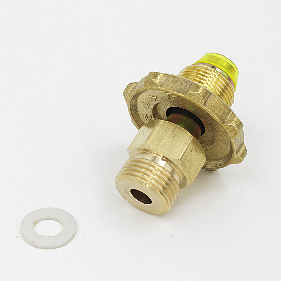 Details about  /Outdoor Camping Gas Refill Adapter Gas Stove Cylinder Tank Coupler Heater Valve