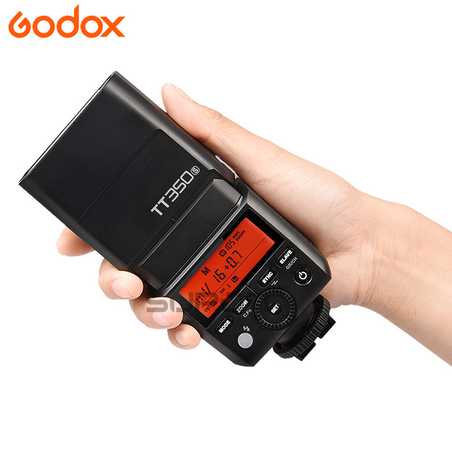 Godox TT350S 2.4G 1/8000s TTL GN36 Wireless Speedlite Flash light for Sony camera A7 A7R A7S A7 II A7R II A7S II A6500 A6000