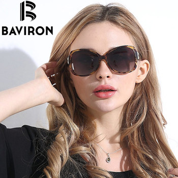 BAVIRON City Eye Tortoise Sunglasses Women Polarized Lenses Glasses Retro Sunglasses Style Gradient Colors Rays UV400 Oculos 10