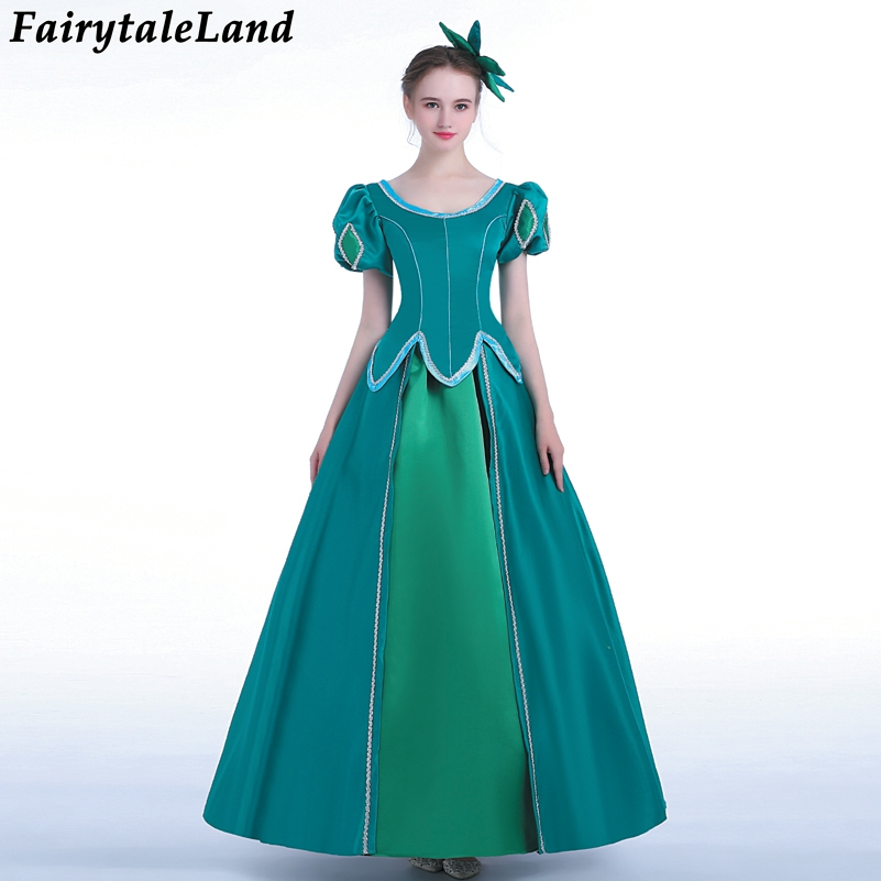 Princess Ariel Dress Halloween costumes Fancy The little Mermaid Ariel Cosplay Costume Mermaid costume Green party dress princess ariel dress halloween costumes fancy the little mermaid ariel cosplay costume mermaid costume green party dress