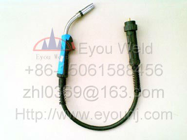 Binzel 24KD CO2 Air Cooled Gas Welding Torch  300AMP 3M Cables (about 10 feet) Ergoplus for MIG/MAG Machine(MB24) автомобильные ароматизаторы chupa chups ароматизатор воздуха chp303