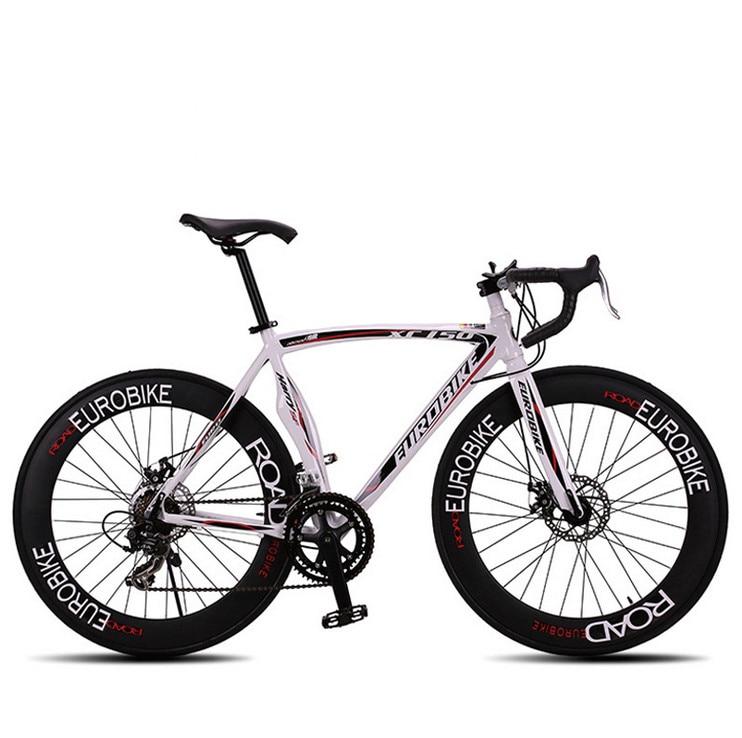 New brand 14 speed racing bike 700C*50cm bike Aluminum alloy frame Bend bicycle cycling disc brake road bike drop shipping