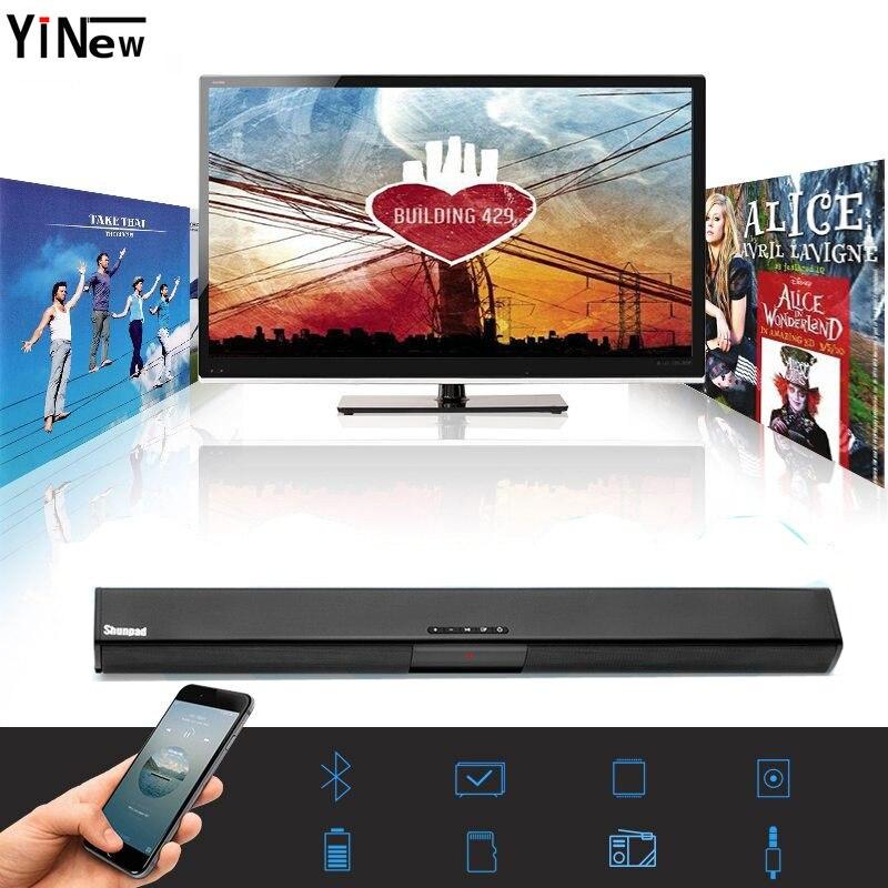 Bluetooth sans fil 20 W Haut-parleurs Ordinateur Colonne 2.1 Barre de Son subwoofer USB AUX MP3 Musique Lecteur Boom Box pour Téléphone TV ordinateur