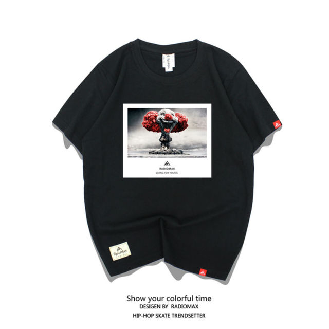 Marca Coringa Roupas de Algodão T Camisas Para A Camisa Das Mulheres Dos  Homens Do Skate a16ab3add3d
