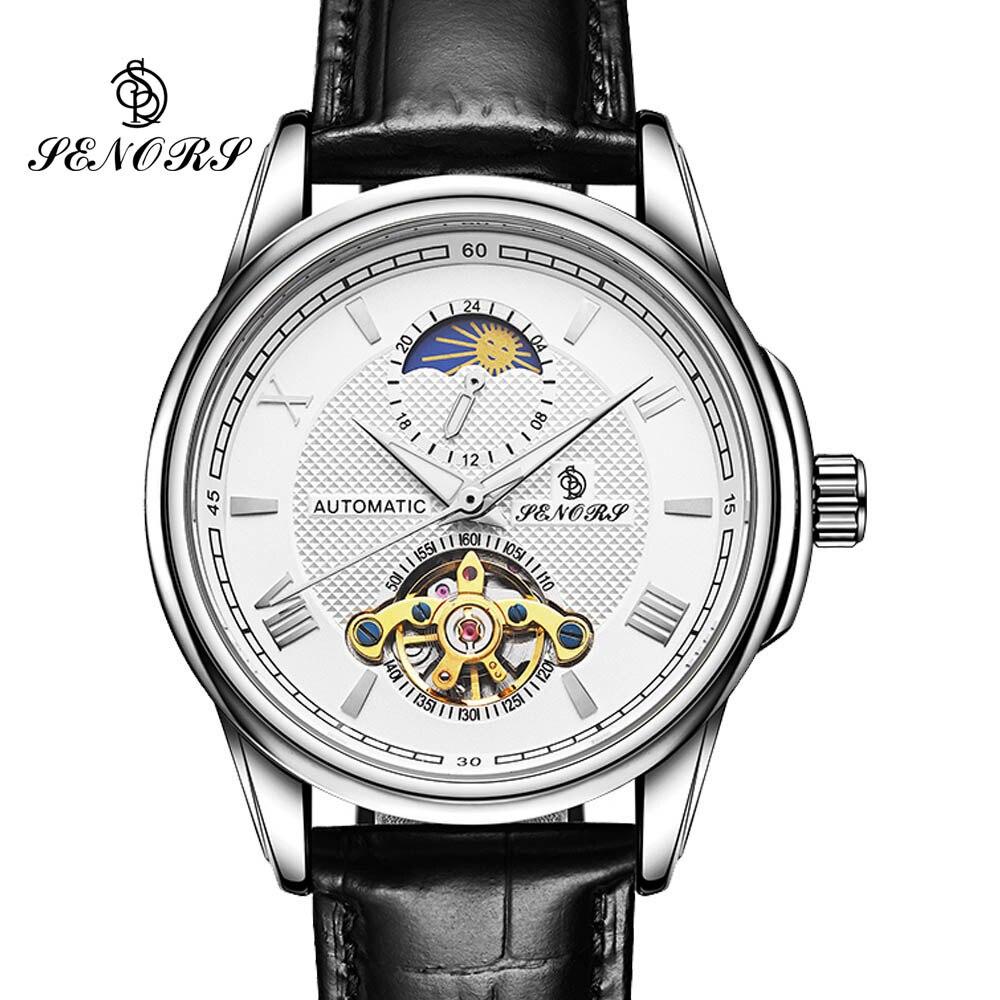 где купить Relogio Masculino Skeleton Self-Wind Tourbillon Mens Watches Top Brand Luxury Automatic Mechanical Wristwatches Luminous по лучшей цене