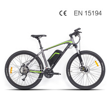 27.5inch Ebike 36V electric mountain bicycle 350W motor rear wheel driver m371  27speed  smart speed sensor assist electric bike