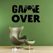 Gamer PS4 wall decal Eat Sleep Game Controller video game decals Customized For Kids Bedroom Vinyl Wall Art  A1-014