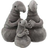 1pc Waiting Plush Toy Zhdun Meme Tubby Gray Blob Zhdun Stuffed Toy Plush Toys Homunculus Loxodontus