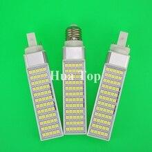 13W E27 G24 G23 LED Corn Bulb Lamp Bombillas Light SMD 5050 Spotlight 180 Degree AC85-265V Horizontal Plug Light Wam Cold White