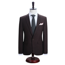DARO Men's New Work Slim Fit One Button Suits Jacket and Pants Men Blazer (DR8158-A6#)