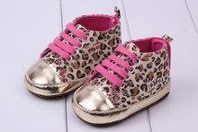 leopard beautiful children's shoe gold leopard Baby Shoes leopard soft sole baby shoe bx20