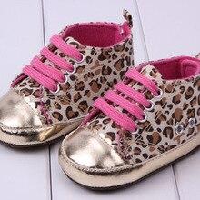 leopard beautiful children's shoe gold leopard Baby