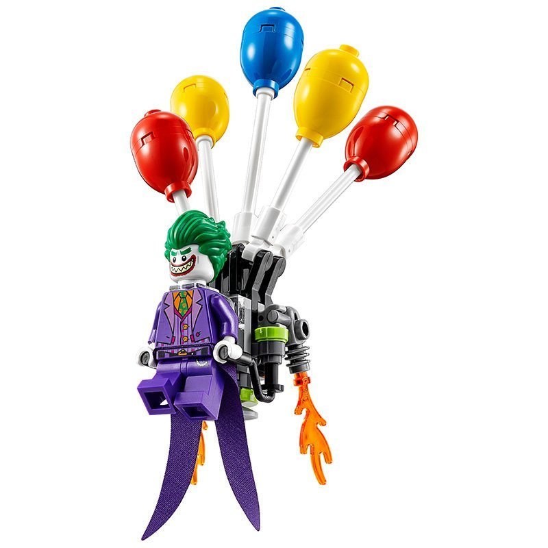 LEPIN Batman Series The Joker Balloon Escape Building Blocks Bricks Movie Model Kids Toys Marvel  Compatible Legoe