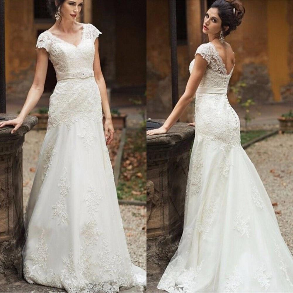 Cheap Elegant Wedding Dresses: Cheap Price 2017 Wedding Dresses Mermaid Real Image