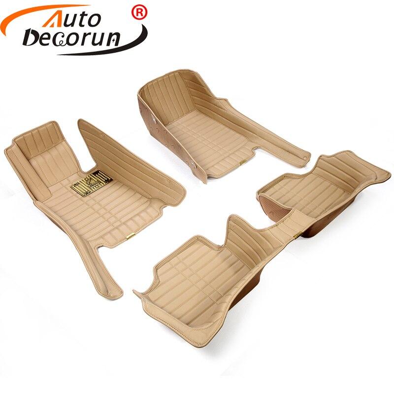Autodecorun custom fit автомобиля Коврики S для Mazda 6 Atenza 5 CX 5 CX 7 CX 9 автомобиль напольных ковров Коврики укладка ПВХ внутреннее отделение на кожаной под