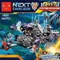 Следующий кавалер Jestro штаб работоспособна блок Джокер nexus рыцари Копье Macy кирпичи совместимы legoeinglys.70352 игрушки
