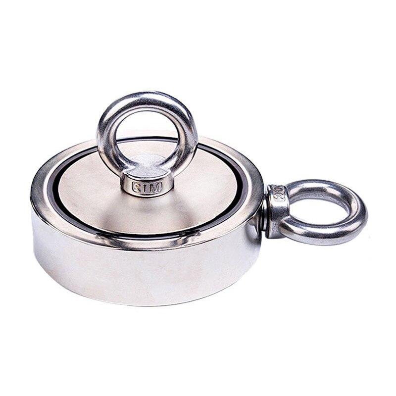 'the Best' Salvage Magneet Sterke Magnetische Dubbele Kanten 80/120 Kg Opknoping Ring Voor Onderwater 889 Lage Prijs
