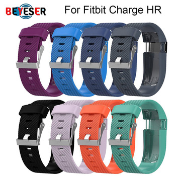 For Fitbit Charge HR Replacement Watch Strap Silicone Watchband for Fitbit Charge HR Activity Tracker Metal Buckle Wrist Band фото