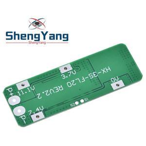 Image 2 - 3S 20A Li ion Pin Lithium 18650 Sạc PCB BMS Ban Bảo Vệ Cho Máy Khoan Động Cơ 12.6V Pin Lipo Tế Bào Mô Đun 64x20x3.4mm