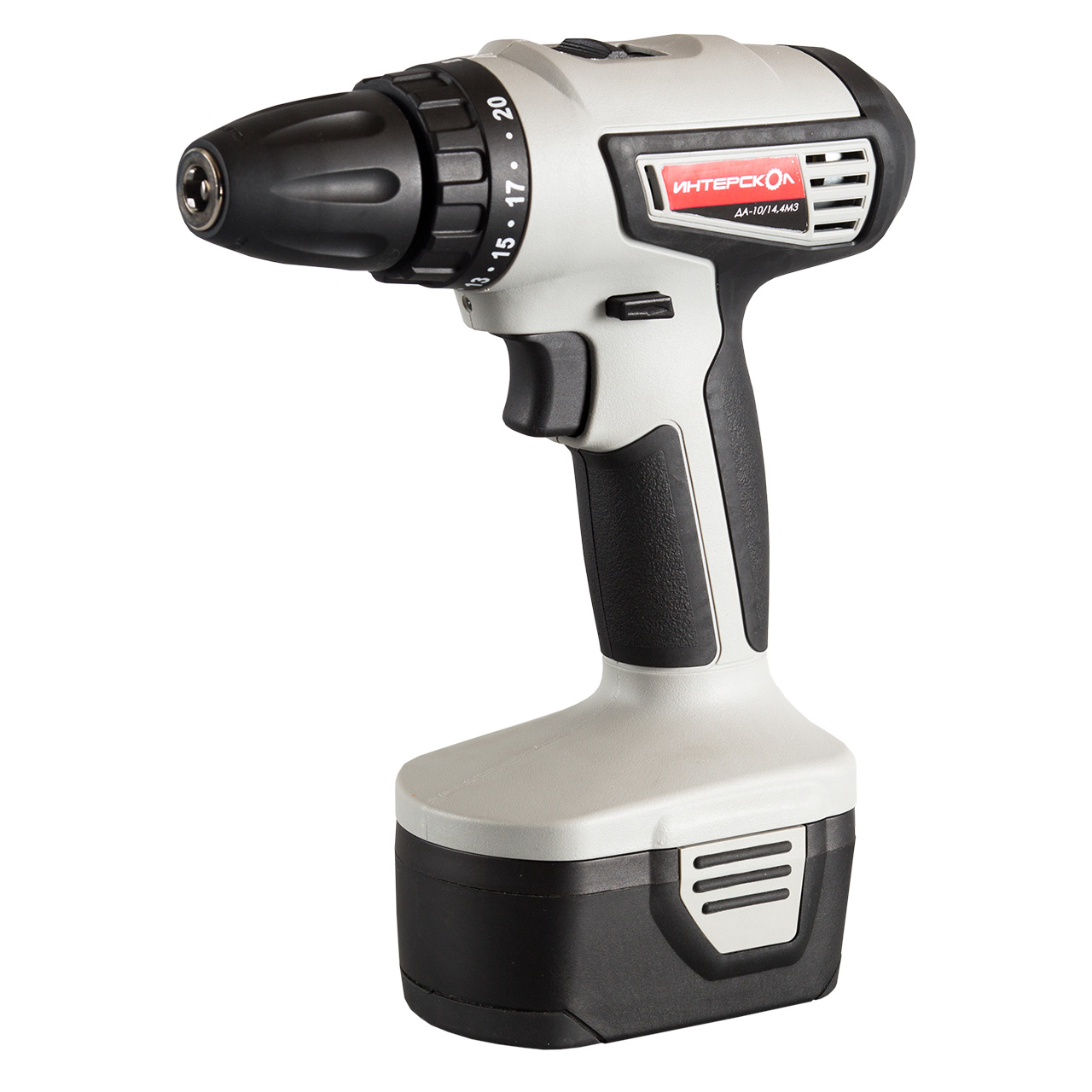 Drill Interskol da-10/10/14 4M3 (speed from 0 to 400 and from 0 to 1400 rpm, 2 speed machine drill sturm bd7045 power 450 w cartridge from 0 to 16mm speed from 280 to 2350 rpm