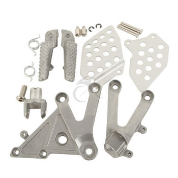 цена на Motorcycle Front Footrest Foot Pegs For Honda CBR 600RR 600 RR 2003-2006 2004 2005