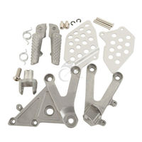 Motorcycle Front Footrest Foot Pegs For Honda CBR 600RR 600 RR 2003 2006 2004 2005