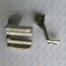 Double Welt Foot Set Highlead GC0318 / Yamata FY-5318 Sewing Machines # U192LW+U193KW 3/16