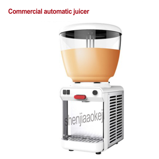 LJH20 Juice container Automatic Beverage Commercial juice machine Self-service Stirring cold drink machine single cylinder