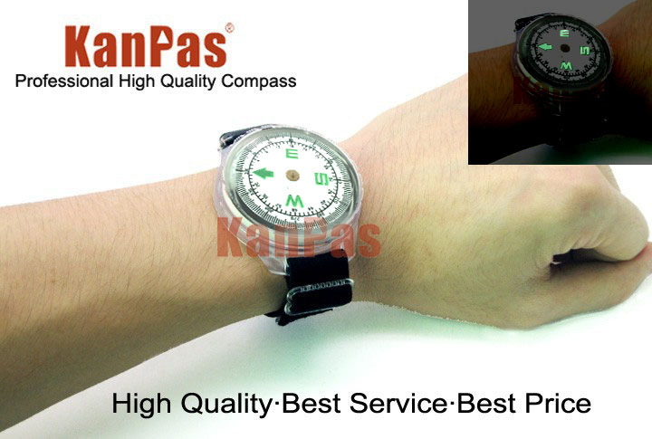 KANPAS diving compass with ultra long time luminous,free shipping,MAW-43-D diving adventure
