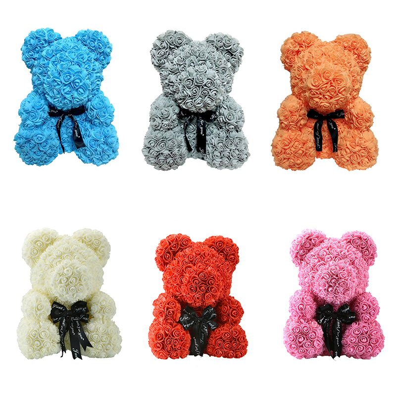 Luxury rose teddy bear 1