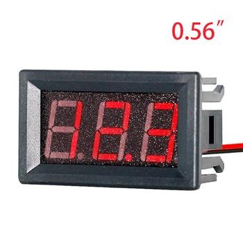 EAFC Digital Voltmeter DC 4.5V to 30V Digital Voltmeter Voltage Panel Meter Red For 6V 12V Electromobile Motorcycle Car