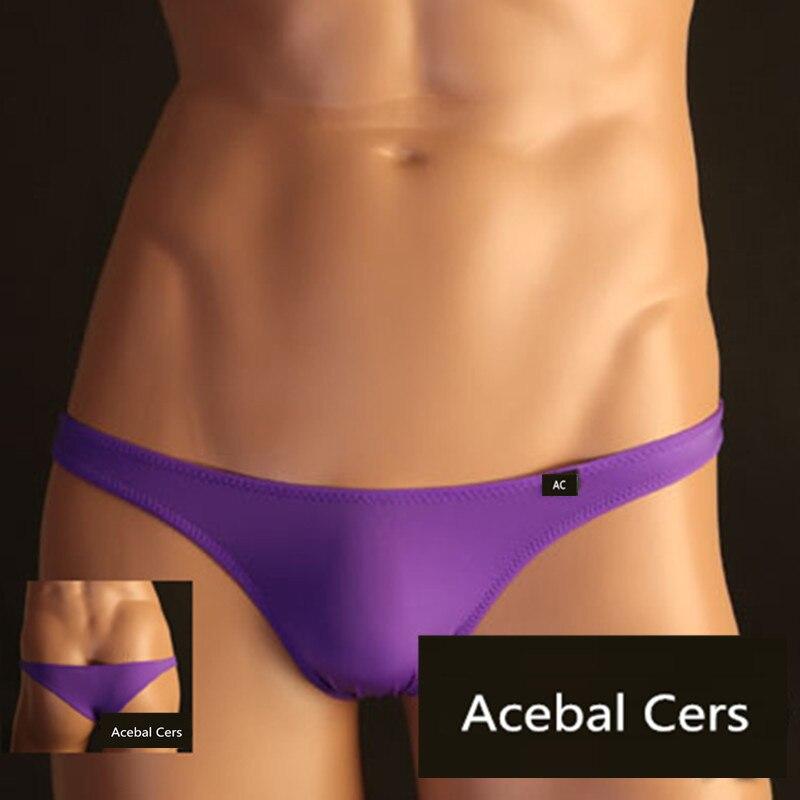 2019 Acebal Cers Mens Underwear Briefs Men TM Mini Sexy Men Briefs Jockstraps Manview Low Waist Cueca Gay Men Bikini Briefs XXL
