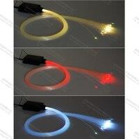 150piecs 2m 0.75mm mini led decorative star ceiling fiber optic light kit for lighting
