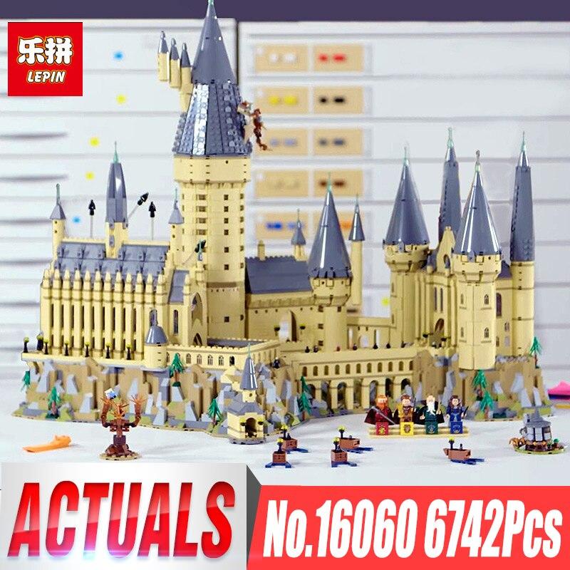 in stocks lepin 16060 harry movie potter magic school legoinglys